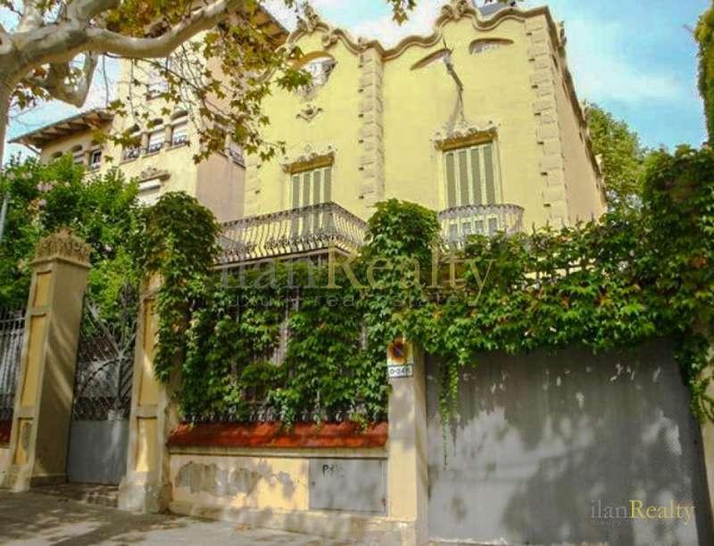 casa de estilo colonial y modernista en venta en barcelona